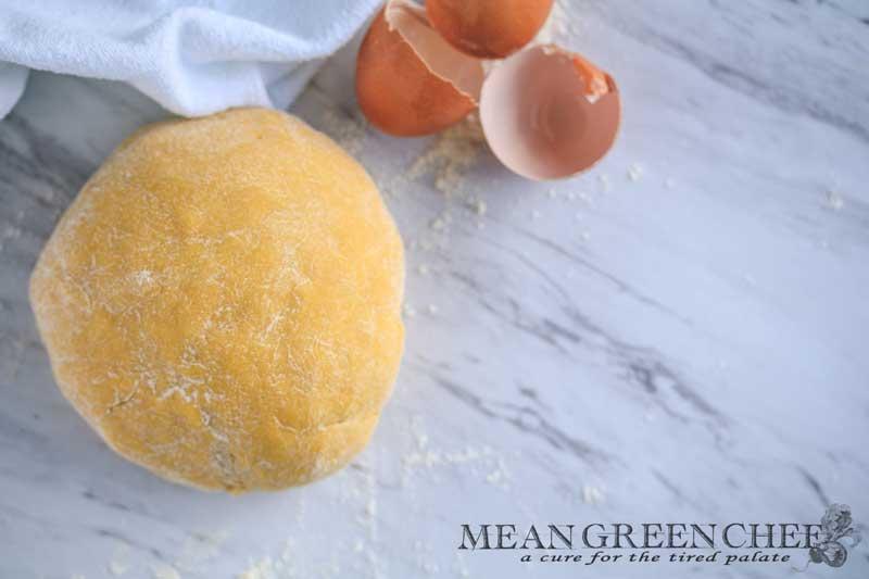 Easy Egg Yolk Pasta Mean Green Chef (5)