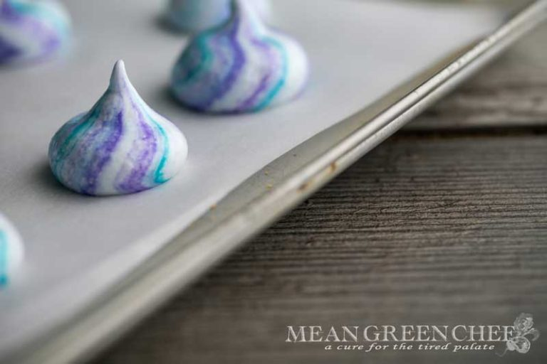 Basic Meringue Recipe | Mean Green Chef