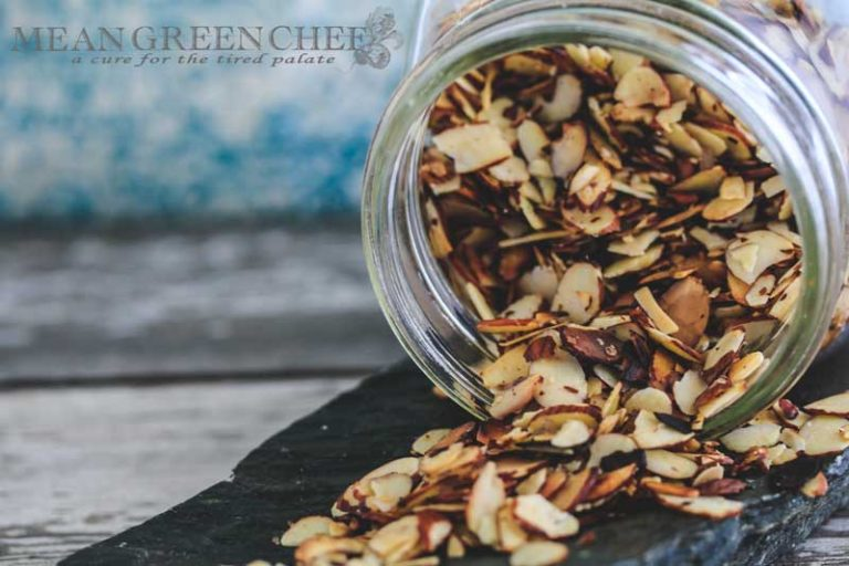 Pan Roasted Almonds Recipe   Mean Green Chef