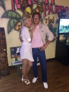Angela + Craig Greven Halloween Chevy Chase and the not so Christy Brinkley