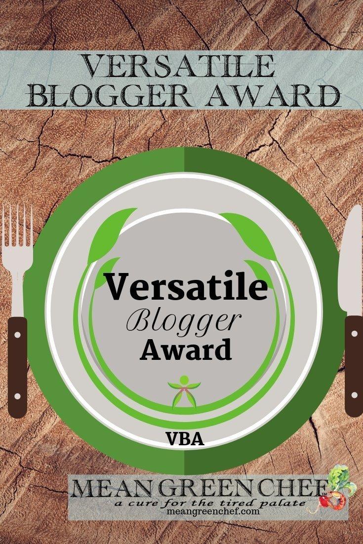 Virtual Blogger Award Mean Green Chef