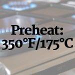 Preheat the oven photo