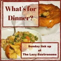 What's for Dinner Sunday Link Party Logo