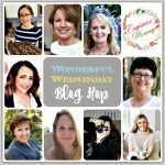 Wonderful Wednesday link party.